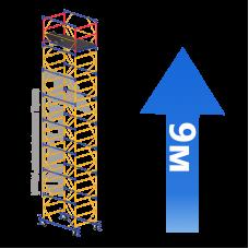 Вышка-тура (7 + 1) 1,2 х 2,0 м (Н=9,0 М)